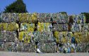 Balíky tříděného plastu